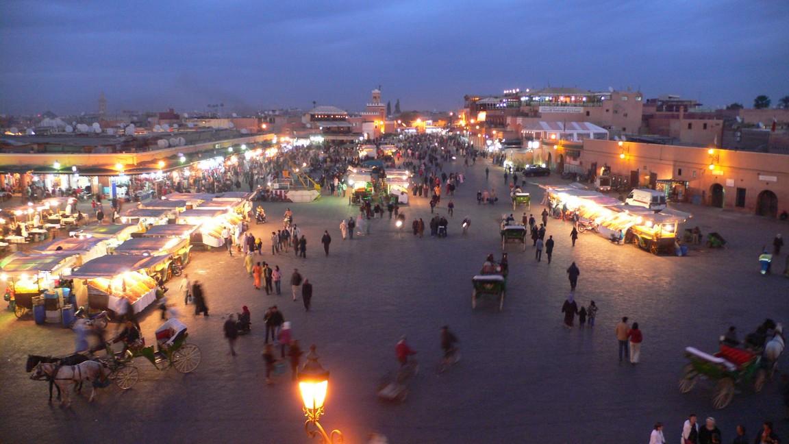 Marokko 2007 Marrakech
