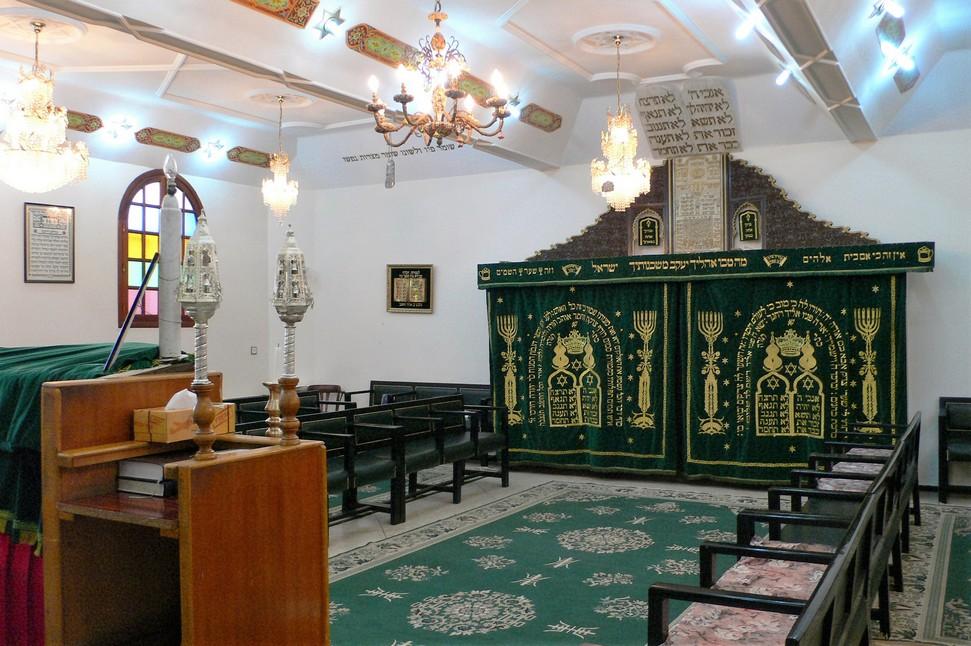 Marokko 2007 Synagoge