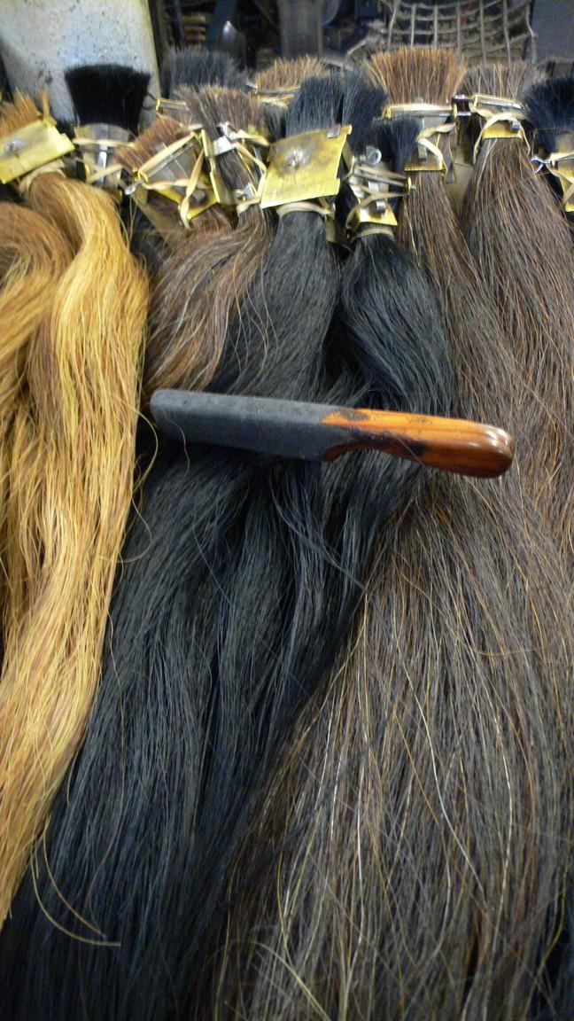 England 2007 John Boyd Textiles Somerset horse hair weaving