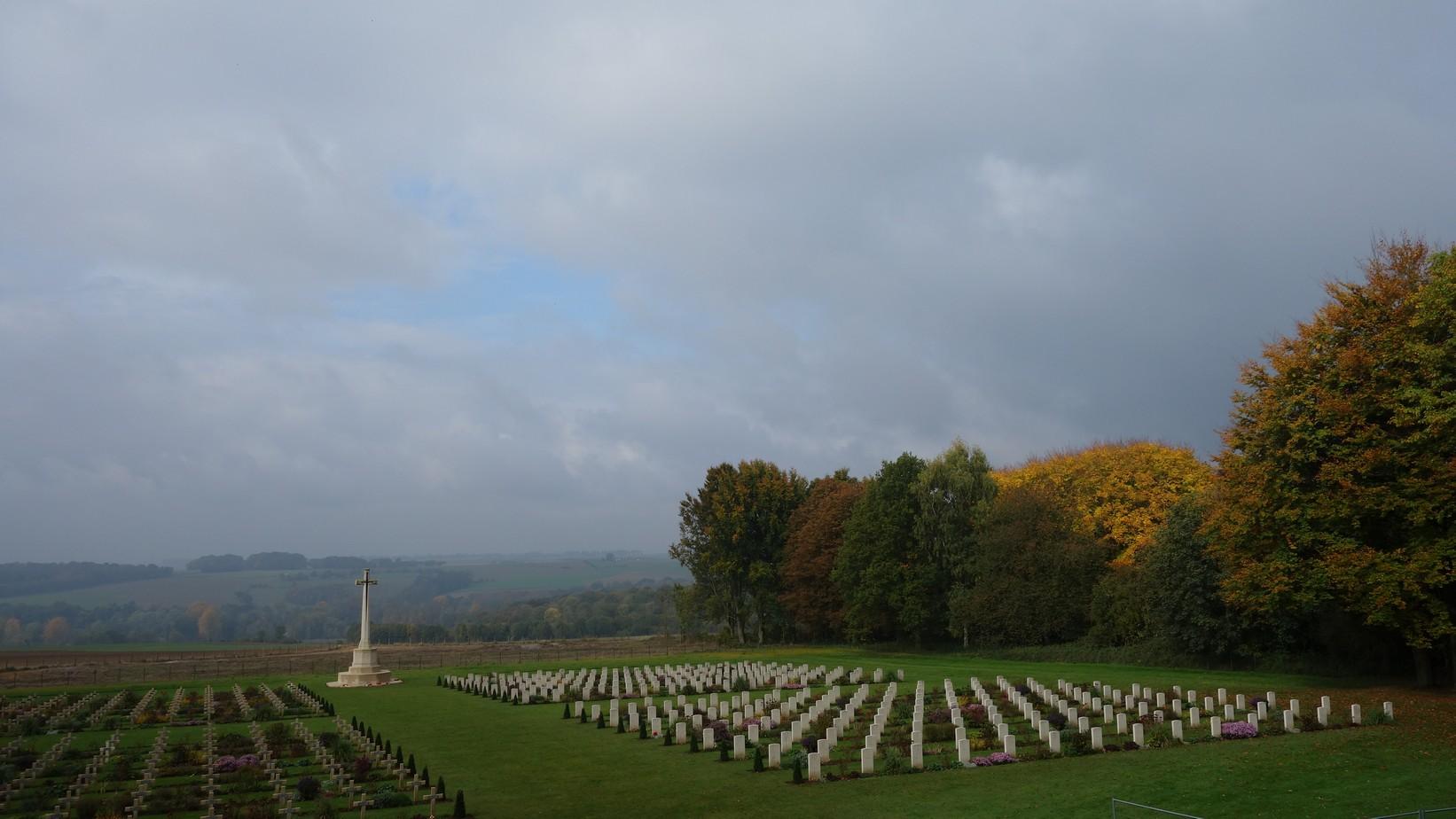 Frankrijk 2015 Thiepval reis Slag om de Somme