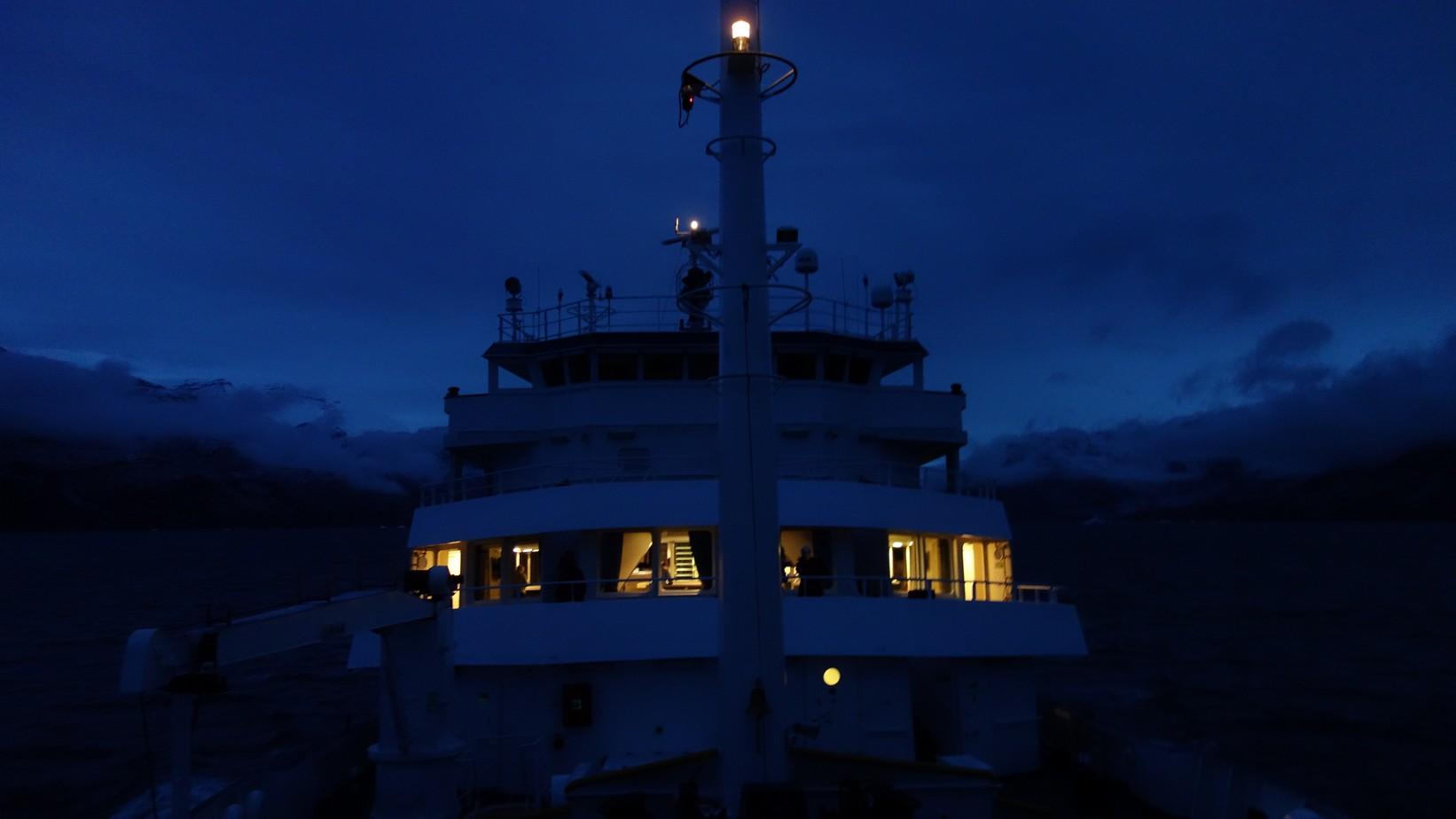 Groenland 2015 aan boord van ms. Plancius
