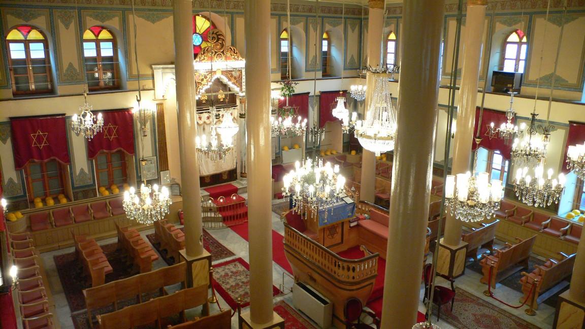Turkije 2009 Istanbul Synagoge